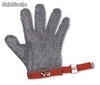 Guantes acero inoxidable