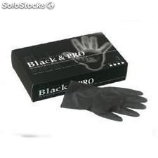 Guantes latex black MEDIANO20UN. Nelson