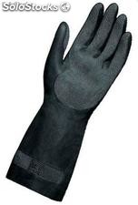 Guantes latex-neopreno flocado mapa techni-mix 415