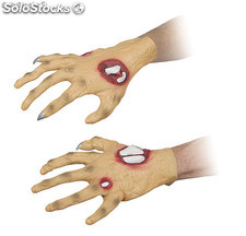 Guantes latex zombie