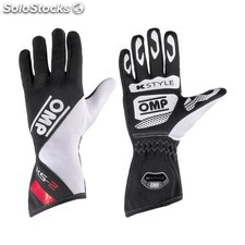 Guantes omp ks-2 negro/blanco/rojo talla 6 (for children)