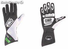 Guantes omp ks-2 verde/blanco/negro talla 6 (for children)
