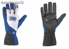 Guantes omp ks-3 negro/blanco/azul talla 4 (for children)