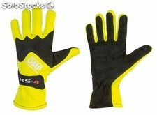 Guantes omp ks-4 fluo amarillo talla 4 (for children)