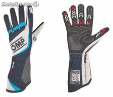 Guantes omp one evo navy azul/grey/cyan sz xl