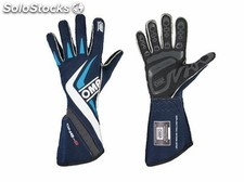 Guantes omp one-s MY2016 azul navy/cyan sz m