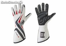 Guantes omp one-s MY2016 blanco talla xs