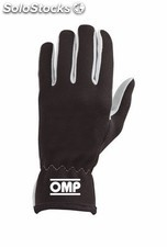 Guantes omp rally negro talla m