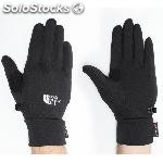 Guantes senderismo the north face powersretch negro hombre