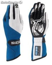 Guantes sparco force rg-5 tg 10 azul