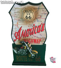 Guarda llaves Route 66 Harley Davidson