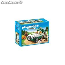 Guardabosques con Pick Up Playmobil