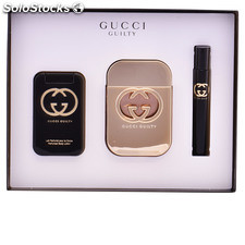 Gucci guilty lote 3 pz