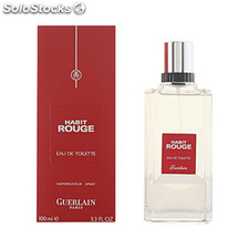 Guerlain - habit rouge edt vaporizador 100 ml