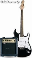 Guitarra electrica zipy zip091 + amplificador + funda (manual usuario y curso pa