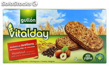 Gullon Galleta Sandwich Avellana Vitalday 220gr. Gullon