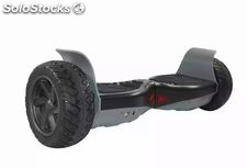 Gyropode hoverboard electric auto équilibre Scooter balance bluetooth noir