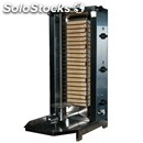 Gyros / kebab grill - stainles steel - mod. e 50 - n. 5 cooking zones - meat