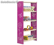 habitat toy mini 5/300 rose/blanc, 1600x600x300mm, simonrack