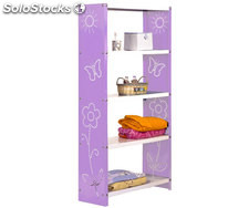 habitat toy mini 5/300 violet/blanc, 1600x600x300mm, simonrack