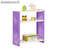 habitat toy plus 3/300 violet/blanc, 900x800x300mm, simonrack