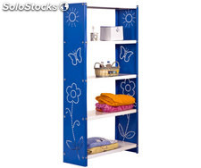 habitat toy plus 5/300 bleu/blanc, 1600x800x300mm, simonrack