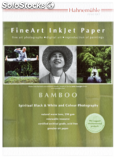 Hahnemühle Bamboo A 3+ 290 g, 25 hojas, natural blanco