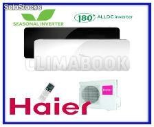 HAIER Split Serie Aqua (QS2) AS12QS2ERA NEGRO
