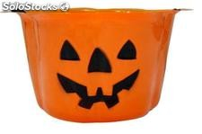 Halloween decorative pumpkin bucket