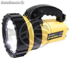 Halogen and LED Rechargeable Flashlight Dual Use (LL07)