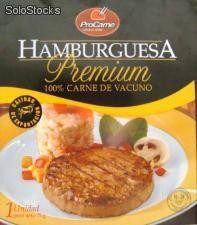 Hamburguesa royal burger 75 g flow impreso