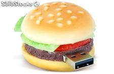hamburguesa usb Flash Drive,memoria usb drive