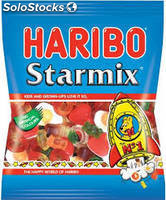 Haribo Starmix 250g, Cadbury Bubbly Milk Chocolate, Princessa Bar