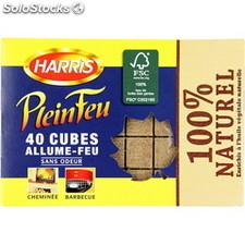 Harris 40 cubes 100% naturel