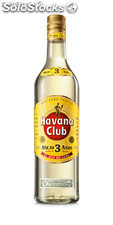 Havana club 3 años blanco 40% vol