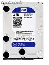 "Hd 3.5"" western digital 3TB sata 64MB blue"