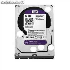 "Hd 3.5"" western digital 6TB sata 3 64MB purpl"