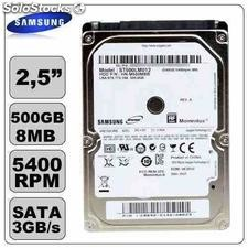 Hd Samsung p/ Notebook Sata 2.5´ 500gb 5400rpm