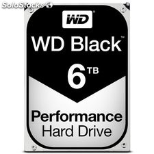 Hd wd black 6TB 3.5""