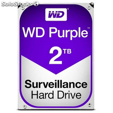Hd wd purple 2TB 3.5""