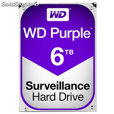 Hd wd purple 6TB 3.5""