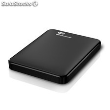 Hdd 6,35cm (2.5) USB3 2TB wd Elements Portable Black WDBU6Y0020BBK-eesn