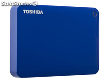 Hdd External Toshiba Canvio Connect ii 2TB Blue HDTC820EL3CA