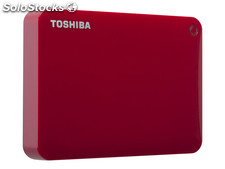 Hdd External Toshiba Canvio Connect ii 2TB Red HDTC820ER3CA