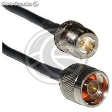 HDF200 coaxial cable N-male to N-female 1m (WE11)