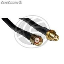 HDF200 coaxial cable SMA-male to SMA-female 3m (WE03)