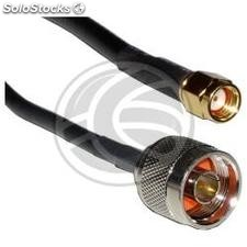 HDF400 coaxial cable n-Male to rsma-Male 10m (WG56)