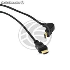 Hdmi Cable hdmi Type-a Male to hdmi-a male right angle 2 m (HE62-0003)