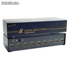 Hdmi splitter 1in - 8 out