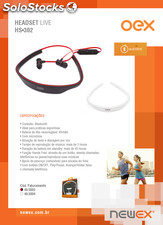 Headset live Bluetooth HS302